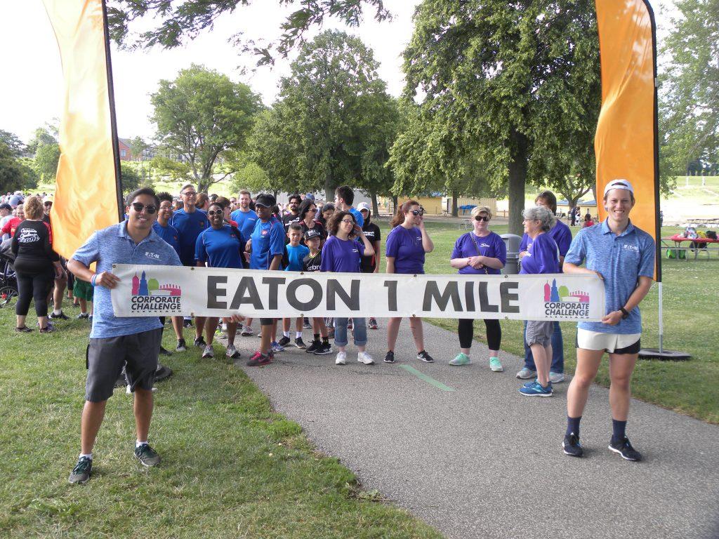 eaton 1 mile walk cleveland corporate challenge